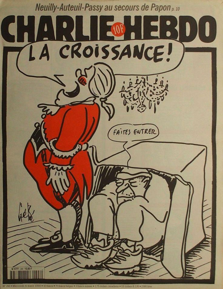 Charlie Hebdo - # 298 - 4 Mars 1998 - Couverture : Gébé