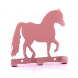 pony dressing gown holder