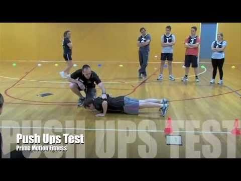 Victoria Police - Push Ups Test