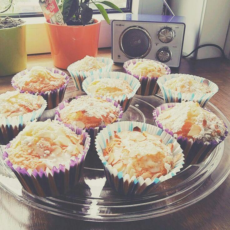 Zitronen Mandel Cupcakes