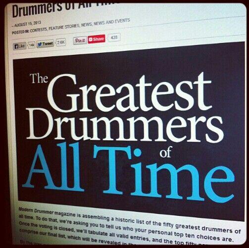 Greats drum expo
