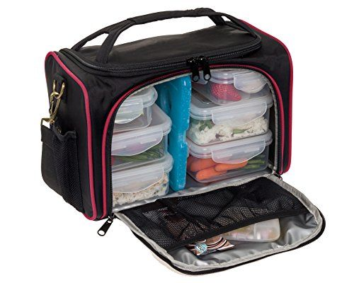 Meal Prep Bag is extremely popular with bodybuilders. It has lots of Portion Control containers  sc 1 st  Pinterest & 15 best Great Meal Bags for Bodybuilders w/ Portion Control ... Aboutintivar.Com