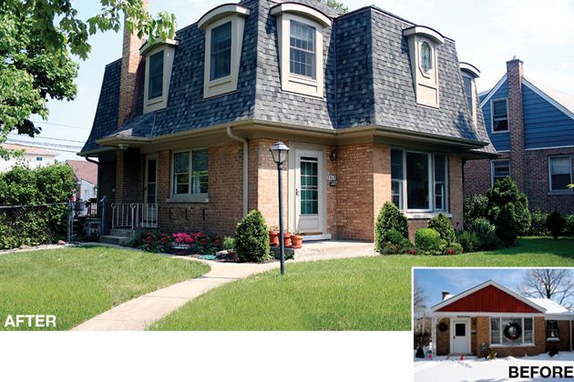 17 best images about before and afters exteriors on for Cape cod second floor addition
