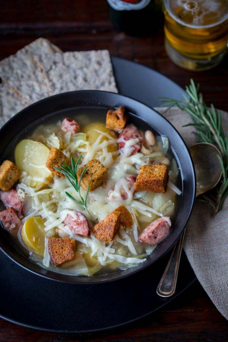 slow+cooker+kielbasa,+cabbage+and+potato+soup+via+@healthyseasonal