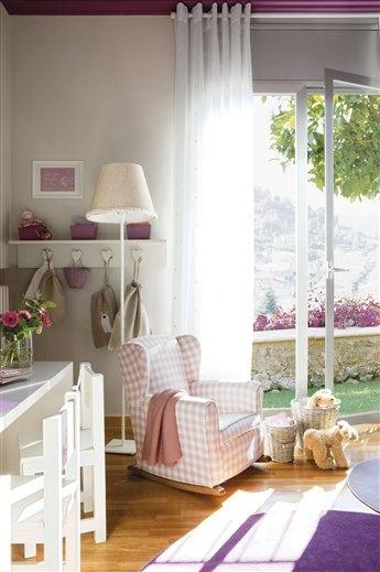 Una habitación muy coqueta y llena de detalles · ElMueble.com · Niños