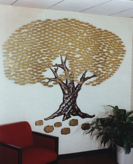 Donor Wall Tree Donor Recognition Wall Donor Wall Wall