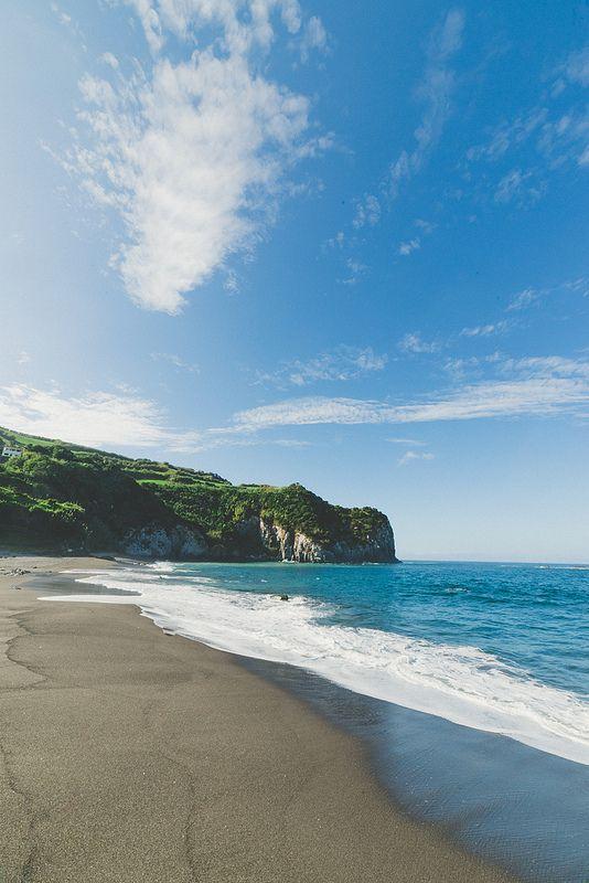 Beach  Sao Miguel, Azores, Portugal | by Zanthia