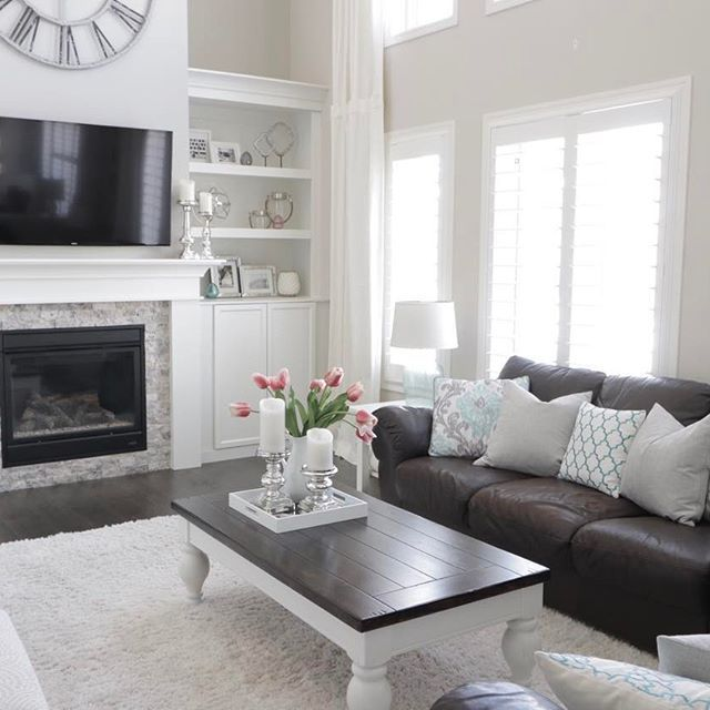 Best 25+ Grey leather couch ideas only on Pinterest Leather - white leather living room furniture