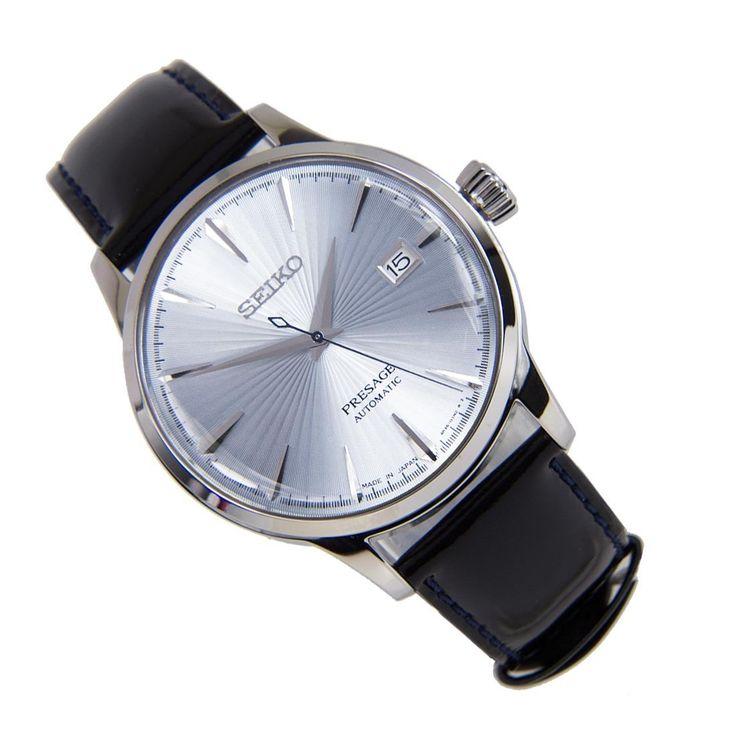 Sports Watch Store - Seiko Presage SRPB43J1 SRPB43J Mechanical Black Leather Bracelet Male Power Reserve Casual Watch, $383.00 (https://www.sports-watch-store.com/seiko-presage-srpb43j1-srpb43j-mechanical-black-leather-bracelet-male-power-reserve-casual-watch/)