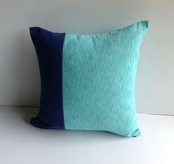 mint pillow covers home decorators navy mint decorative pillow cover house warming gift blue cushions