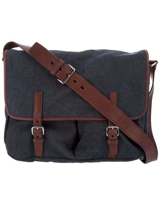 Prada men's satchel bag