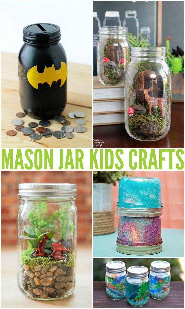 Budget Art Einmachglas Kinderhandwerk