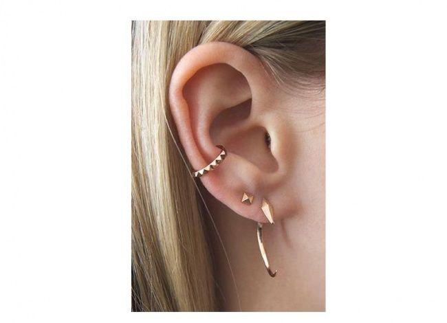Orbital piercing - pomysły na modną ozdobę ucha - Strona 14