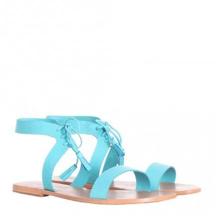 Flat Tassel Sandal