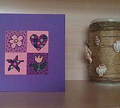 Магазин мастера LaFormica: открытки для женщин, магниты