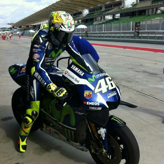 Vale, Sepang Test Day