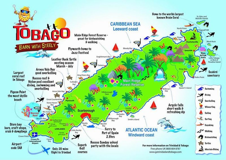 Living on Love and Leftovers: Reflections on Tobago - the second 'T' in 'T & T'