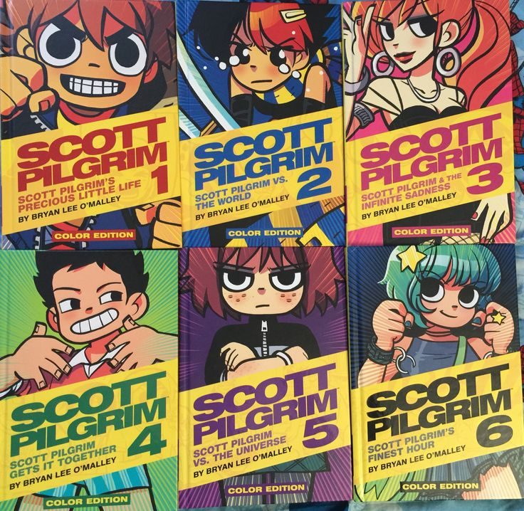 scott pilgrim color comic pdf