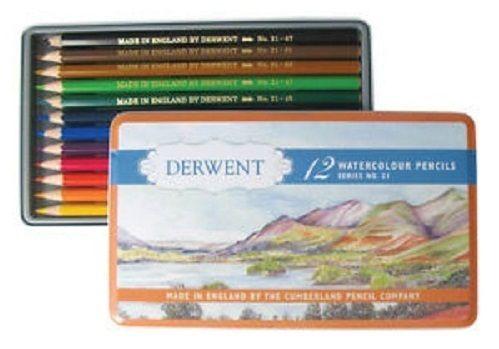 Derwent Retro Special Edition Watercolour Pencil Tin 12pc, $21.95 (http://www.artshedonline.com.au/derwent-retro-special-edition-watercolour-pencil-tin-12pc/)