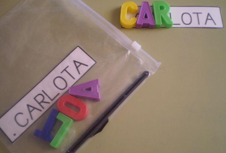 apprendre à écrire son prénom