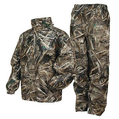 Jacket and Pants Sets 179981: Frogg Toggs All Sports Camo Suit Max 5 Camo - Medium -> BUY IT NOW ONLY: $59.95 on eBay!