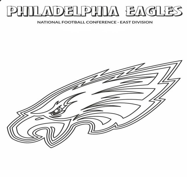 philadelphia eagles coloring pages for kids | Free Printable Philadelphia Eagles Coloring Pages | soccer ...