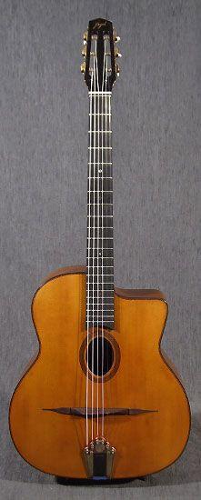 guitares Alain Mazaud - guitares jazz manouche type Selmer - jazz manouche…