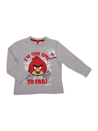 Bluzka Angry Birds I'm Too Epic Szara