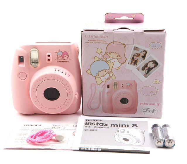 Fuji Fujifilm Instax Mini 8 Camera Fuji Film Photo Instant Polaroid - Little Twin Stars $128.98