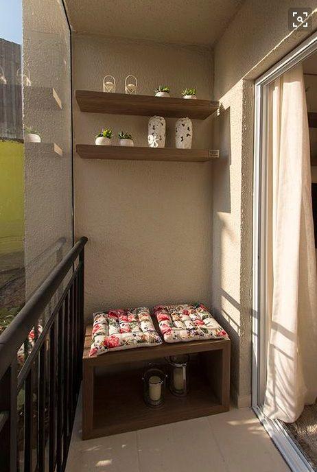 varanda pequena decorada