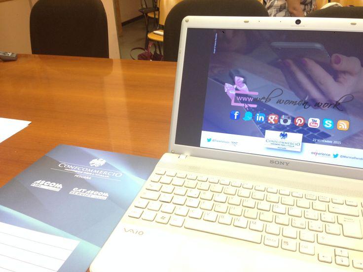 WWW / Web Women Work: Martedì 22 Settembre 2015 ore 14:30 / Confcommercio Pescara – Terziario Donna