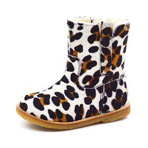 GrowingFeet.de - Bisgaard TEX Stiefel m. Zuglaschen, leopard