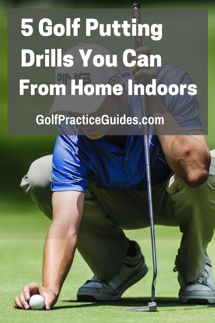 8 Indoor Golf Putting Drills You Can Practice At Home Golf Chipping Tips Golf Tips Golf Putting