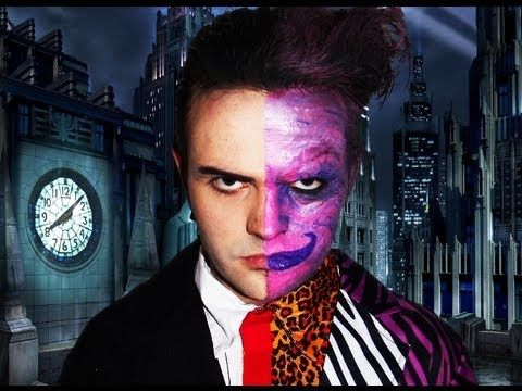 Two Face - Batman Forever - Makeup Tutorial!