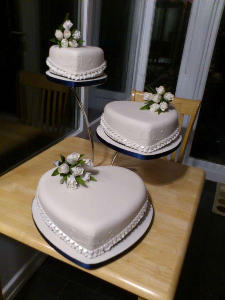 Torte nuziali a forma di cuore  (Foto 36/40) | PourFemme