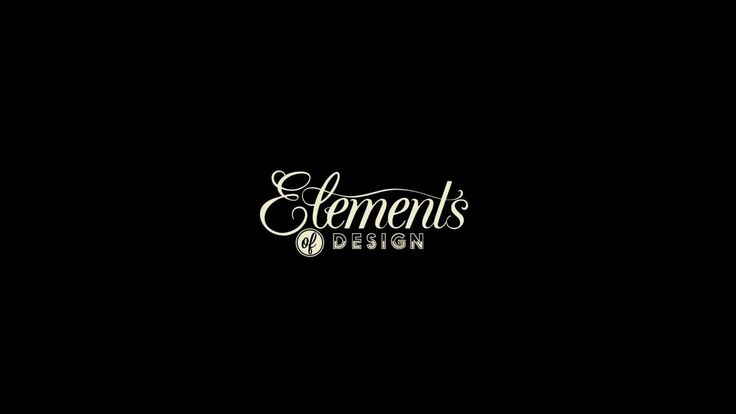 Elements of Design on Vimeo