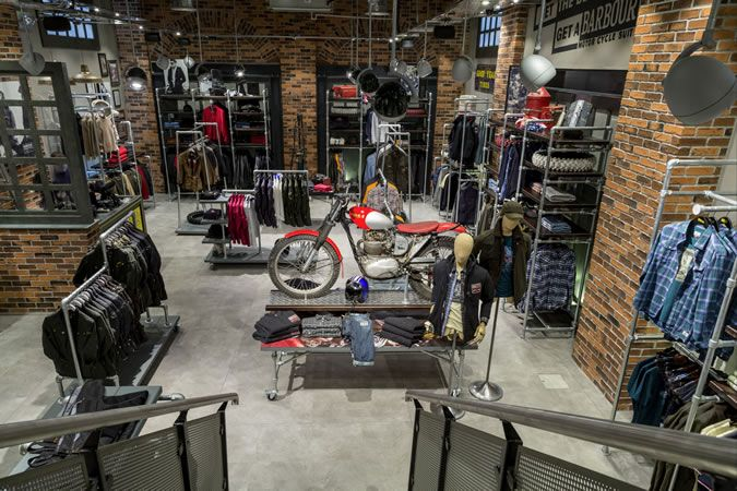 Barbour Heritage Motorcycle Store Launch