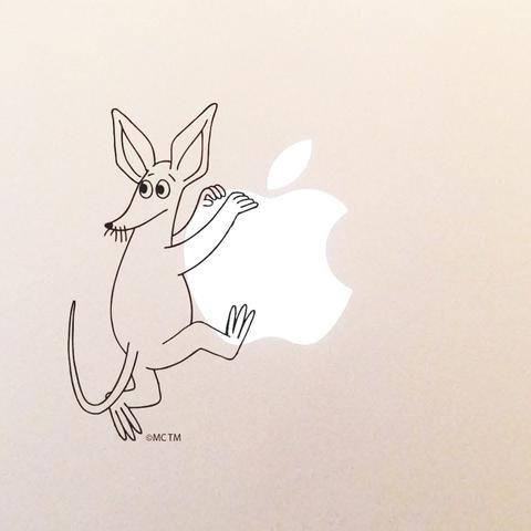 Sniff climbing laptop sticker