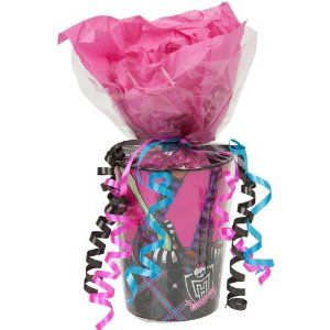 Amazon.com: MONSTER HIGH Party Supplies Pre-Filled Goodie Bag: Toys & Games