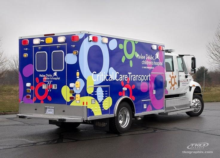 Helen Devos Children's Hospital, vehicle wrap by TKO