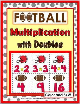 Football Multiplication with Doubles