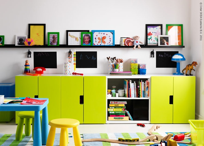 Kids room by ikea