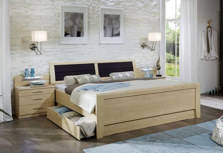 Wiemann Luxor 3+4 Comfort Bed - High Footend