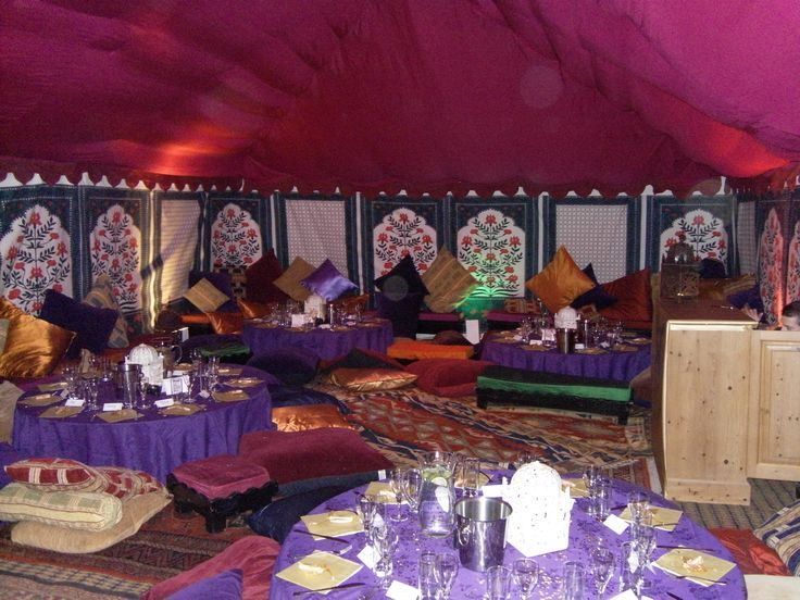 Within our Indian Frame Tent