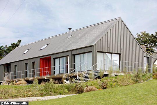 Les 30 meilleures images du tableau maisons hangars et granges sur pinterest architecture - Hangar maison ...