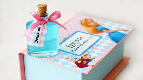 Caixa Alice - Drink Me