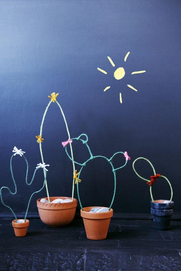 DIY: Nicole's Wire Cacti Garden | Justina Blakeney Est. 1979