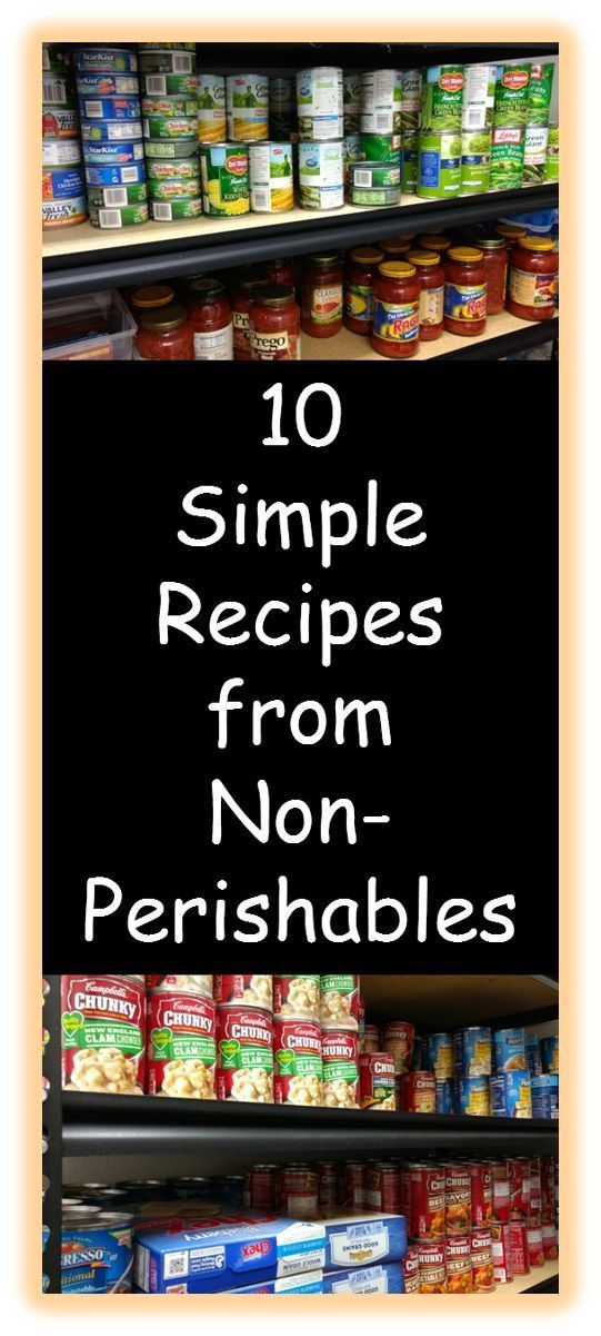 Here are some easy recipes for meals you can make from your stockpiled food!  Find ideas about what to cook with your non-perishable items. #couponer #couponcommunity #couponing #extremecouponing #couponfamily #extremecouponer