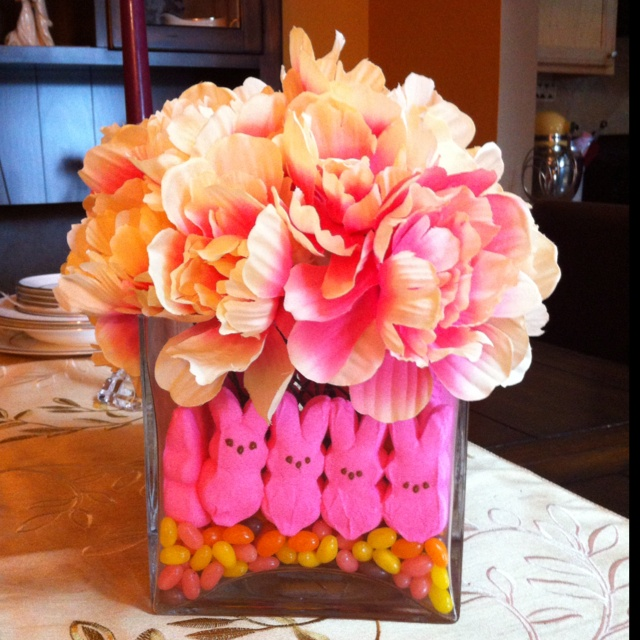My version of an Easter Centerpiece... :) Made from scratch by yours truly: Easter Centerpiece