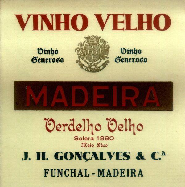 44 Rótulos de garrafas de Vinho Madeira